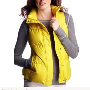 GAP Puffer Vest Yellow